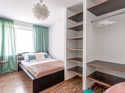 Photo for Double bedroom with a wardrobe in the Old Town