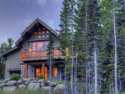 Photo for 3-story, ski-in/ski-out mountain home w/ hot tub, gas & wood-burning fireplaces