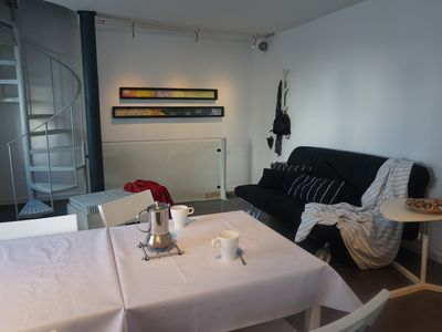 Photo for House with private terrace in the old town, near the beach and recreation area