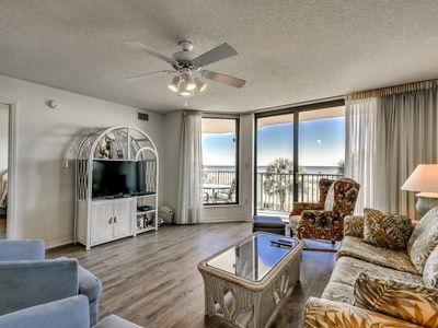 Photo for Oceanfront 1st Floor. Sundeck, Pools, Hot Tubs, Wifi
