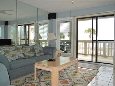 Photo for 2 Bedroom Condo with Huge Gulf Front Balcony to Enjoy!