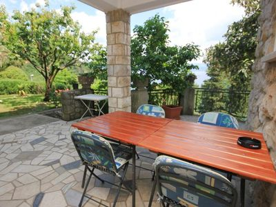 Photo for One bedroom apartment with terrace Medveja, Opatija (A-2305-b)