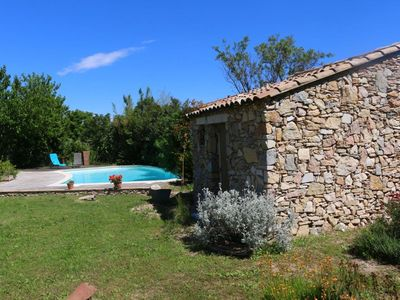 Photo for Beautiful villa between sea (25 min) and scrubland near Nimes