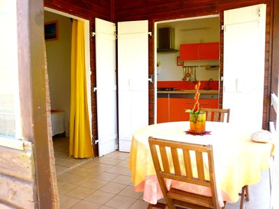 Photo for Nice bungalow with terrace and Wifi