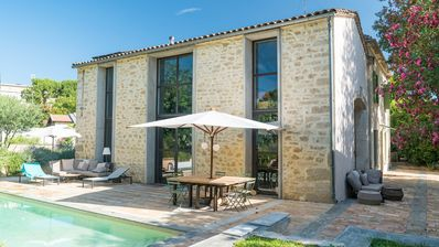 Photo for Magnificent property, swimming pool and large garden in the heart of Montpellier.