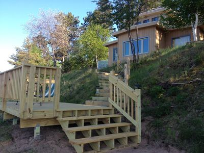 michigan cabins vacation cabin path rentals secluded in