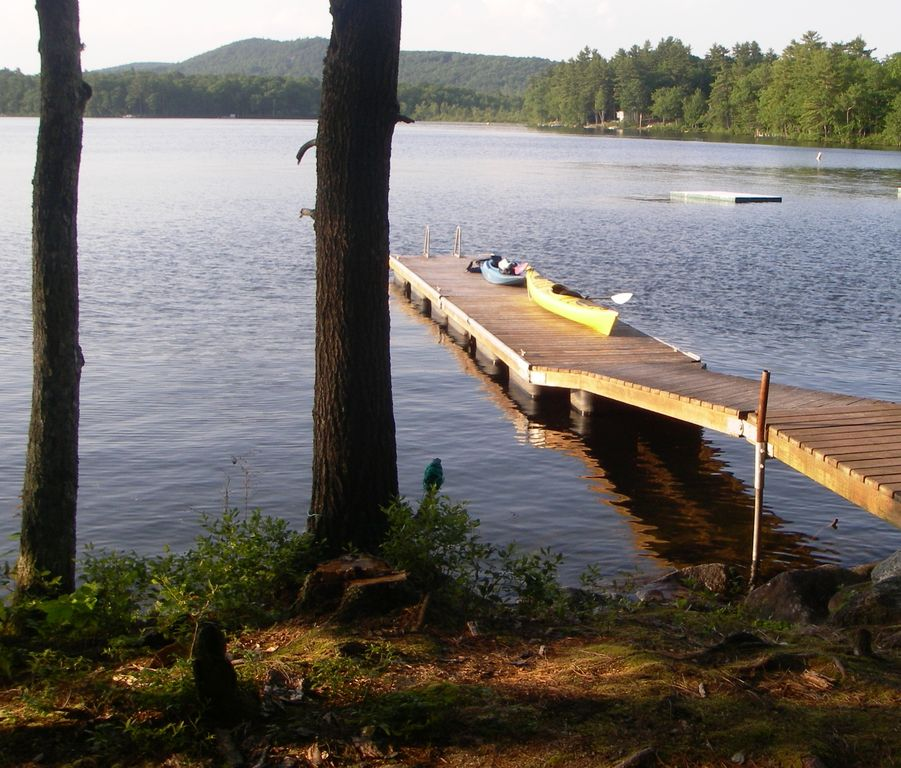 Luxury Home Lake Maine: Modern, Luxury Lakefront Home On Crescent Lake, Maine