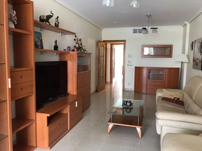 Photo for Spacious apartment near the beach (WiFi, parking)