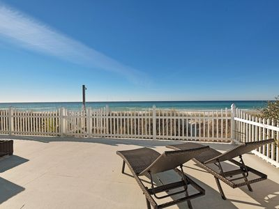 Photo for Beautiful Family Home,  Plenty of Space, Directly on Beach, Large BBQ, Hot Tub!