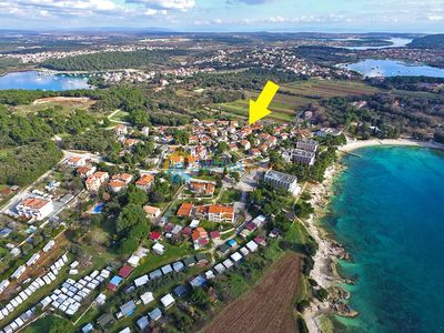 Photo for Apartment 845/2182 (Istria - Banjole), Beach front accommodation, 70m from the beach