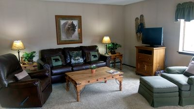 Photo for BC West #F-2: 1BR Condo w/ FREE Skier Shuttle, Heated Pool, Hot Tubs