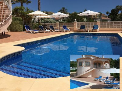Photo for LUXURY VILLA with PRIVATE POOL/GARDEN and WI-FI with PANORAMIC VIEWS