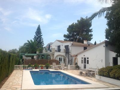 Photo for Holiday home in an estate with swimming pool in Denia, Costa Blanca