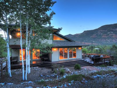 Photo for Non Smoking Home with Incredible Views! 1 Mile N.of Durango w/ Hot tub & A/C