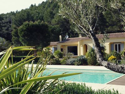 Photo for Rent 45m² furnished 4P Pool & Grand Garden Coté Grand Prix Paul Ricard