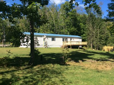 Photo for 2BR Mobile Home Vacation Rental in Caneadea, New York
