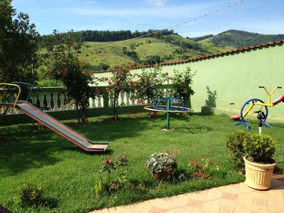 Photo for beautiful and cozy chácara in the mountains of Socorro near the town with swimming pool.