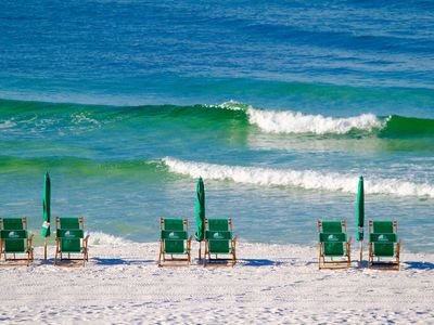 Photo for Be comfortable at the Beach! Rocker Recliner, Soft Beds w/Beach Service included