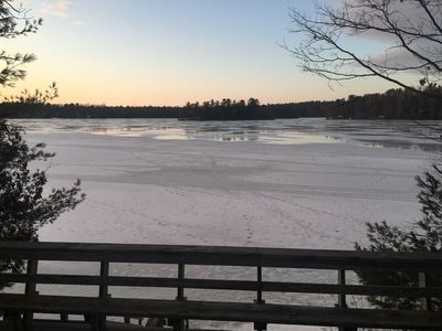 Photo for Enjoy 400 Feet of Private Beach Frontage on Spider Lake