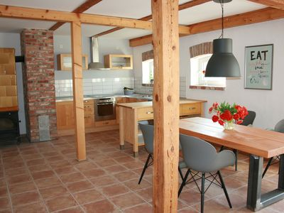 Photo for Apartment mt sauna and fireplace in elite secluded location on the Baltic Sea