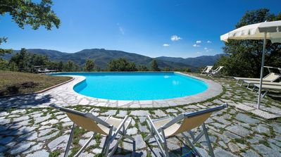 Photo for Villa il Gufo - The farmhouse with private pool