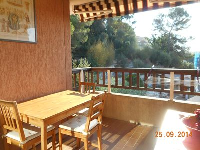 Photo for Cagnes Sur Mer 2 ROOMS WITH POOL TERRACE & GARAGE