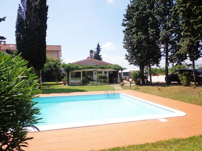 Photo for THE PERFECT HOLIDAY BETWEEN POOL AND PINE FOREST