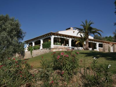 Photo for Beautiful country house set on a hilltop with views of the Sierra de Tramuntana