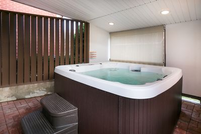 Hot Tub - Unwind in the hot tub after a fun-filled day.