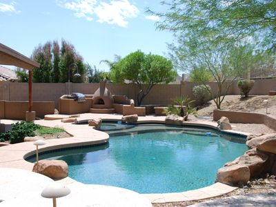 Photo for Executive Relaxed Living Home 5BR/3B Pool & Spa in Estrella Mt Ranch