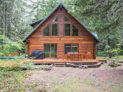 Photo for Majestic Mountain Home On 10 Acres with Hot Tub