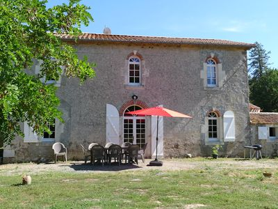Photo for Vendée lodge, with heated indoor pool, surrounded by nature