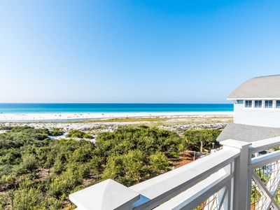 Photo for Executive Access Home! Gulf Front Top Floor Condo! Community Pool/Beach Views