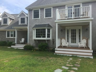 Front and exterior porches