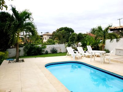Photo for House BONITA, prox. of the lagoon, pool and churrasq new-air cond.- land 1200mt