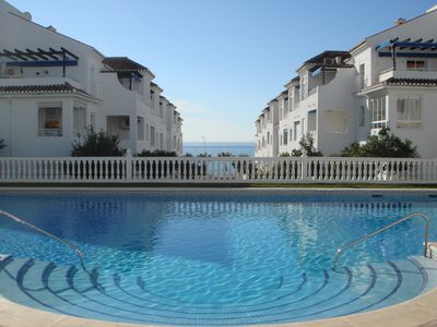 Photo for Location, location, location! Front line beach with all Nerja amenities to hand.