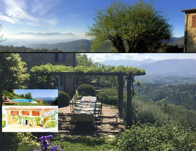 Photo for Peace, panoramas and privacy minutes from the walls of Lucca; a/c & pool