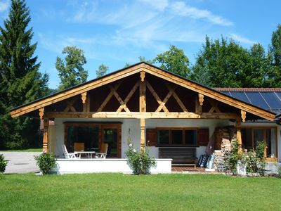 Photo for On Tegernsee cozy country house with garden area, private parking, wireless internet