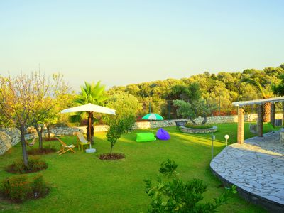 Photo for Villa Filis -1 Bedroom apartment in magnificent hilltop Villa with amazing view