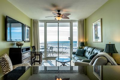 Amazing views and great TV with premium channels and DVD player