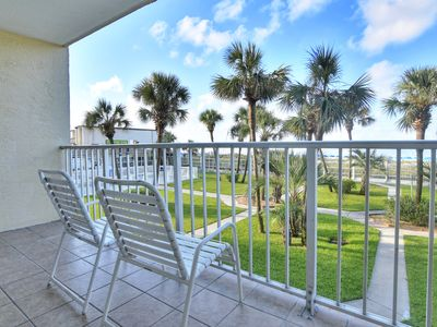Photo for 1-Bedroom Gulf-front Condo – Desirable Lower-Floor Unit by Resort Collection