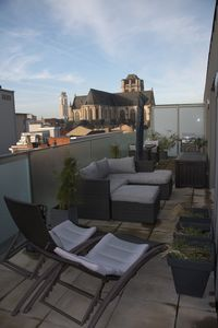 Photo for Bright penthouse with two terraces in cityheart