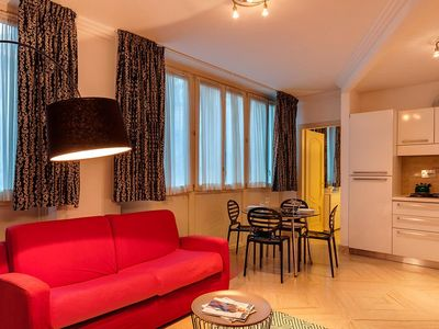 Photo for DOLCE VITA II Elegant apartment in the Spanish Steps area