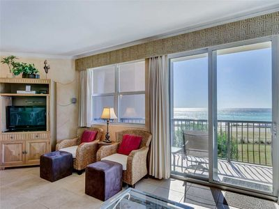 Balcony has Gorgeous Views of the Sunset Nightly! Steps from the Beach and Pool!