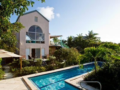 Photo for Villa Camilla: Pool, 6 A on Grace Bay Beach, A/C, Great Views , Snorkeling