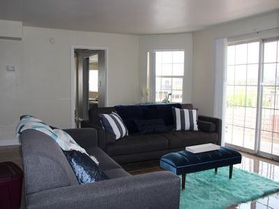Photo for NEW LUXURY 2BR/2BA Suite w/ DOORMAN + STRIP Views!