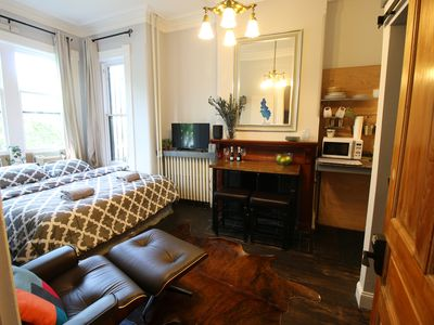 Photo for Quiet and Charming Luxury Studio, King Bed, Close to Capitol & Supreme Court