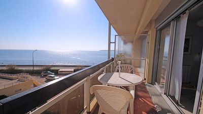 Photo for Studio for 2 people - Sea view - Air conditioning - Near downtown and beach - Sainte-Maxime