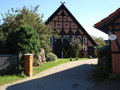 Historic half-timbered house from 1611