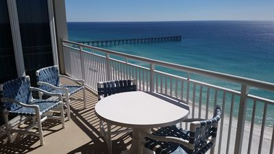 Photo for Sugar white sand & emerald waters! Beautiful Gulf Views from 16th Floor!